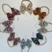 Hand Tied Floral Bow Headbands