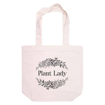Plant Lady Tote Bag 100% Recycled Cotton