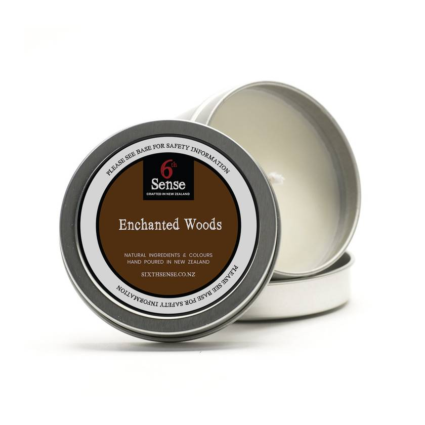 Pure Soy Enchanted Woods Fragrant Soy Candle - Travel Tin