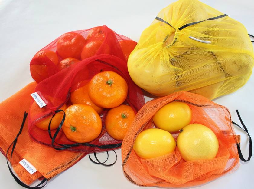 Produce Bags - Fiery Red