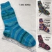 1 pair of Cosy Hand Knitted Wool Socks - choose from 2 colour options
