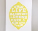 when life hands you lemons, print (third edition)