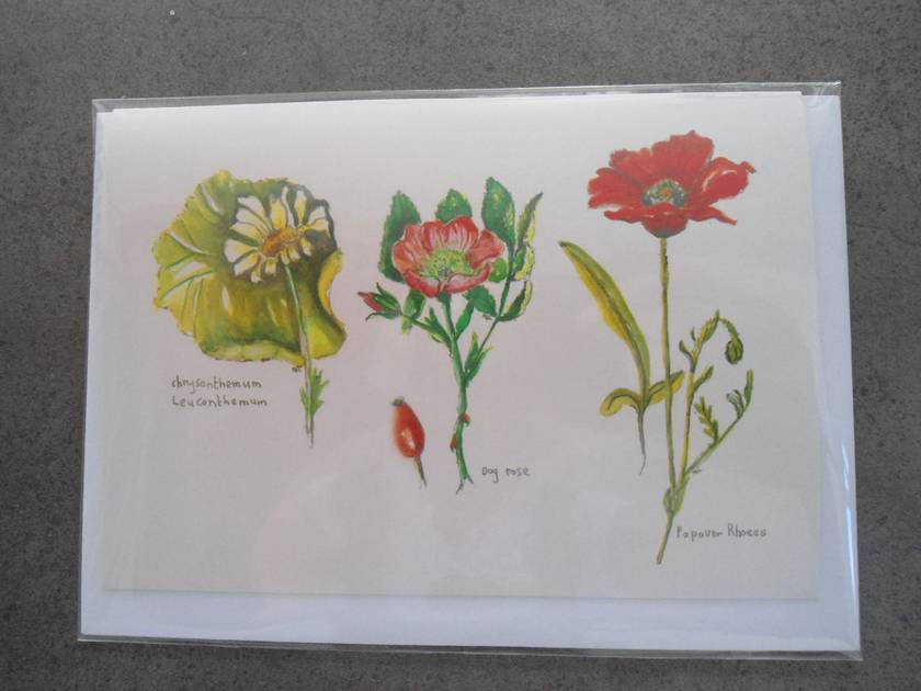 Botanical card