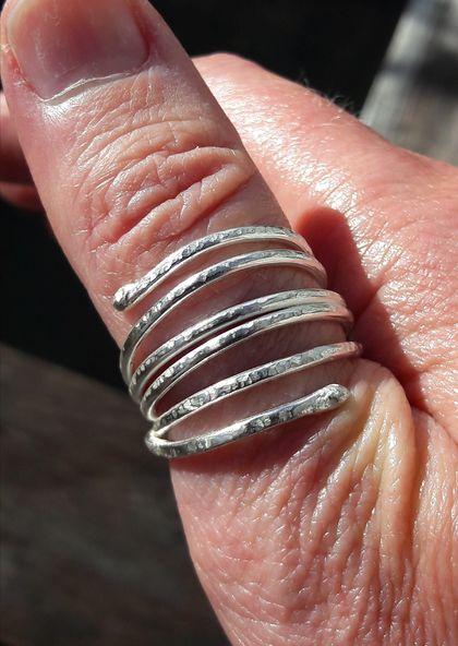 925 Sterling silver Nest ring