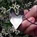 925S Sterling silver Foxy Heart pendant