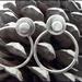925S Sterling silver Disc Ear Jackets