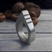 925S Mountain sterling silver ring