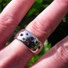 The Swiss Cheese Cigar Band ring