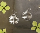 Sterling Silver Ferns Earrings