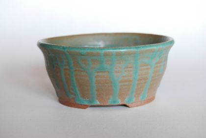 Bonsai Pot -Round 11.2 x 5.0 (cm)
