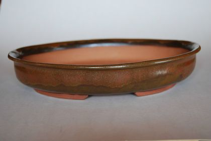 Bonsai Pot - Oval 26 x 21 x 4.8 (cm)