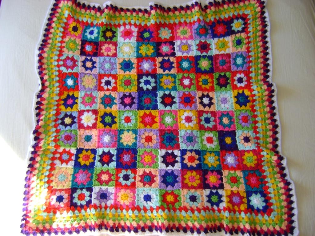 Crochet Blanket Felt
