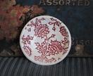 Mudbird Ceramic Red Thistle Dish