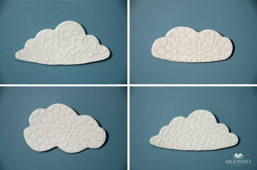 Ceramic Cloud Wall Art #1