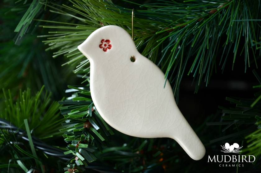 Mudbird Little Bird Christmas ornament #1