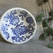 Mudbird Thistle dish - Blue
