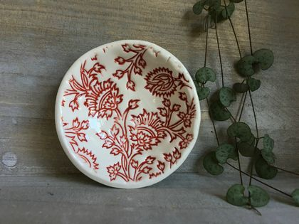 Mudbird Thistle dish - Red