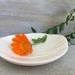 Mudbird White Wood-grain Mini Dish.