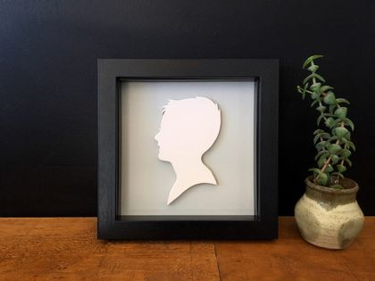 Mudbird ~ Customised Ceramic Portait Silhouette