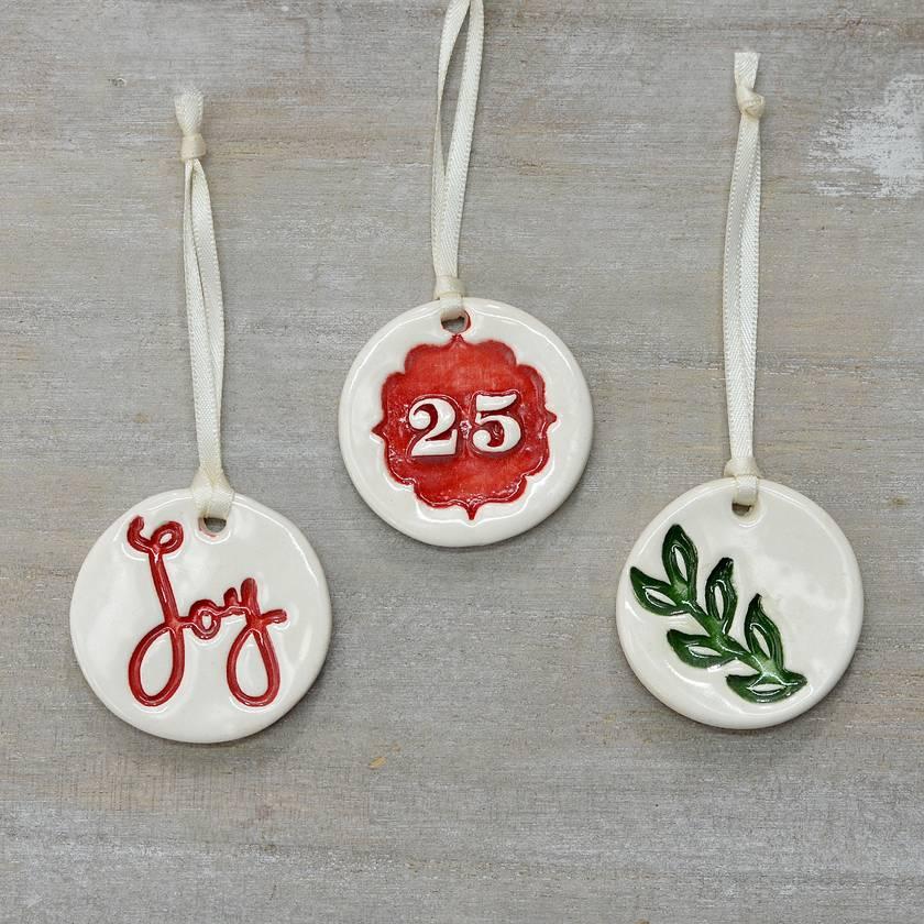 Mudbird Christmas Trio 'JOY'