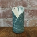 Distressed Jade wrap vase