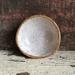 Ceramic speckled clay dish