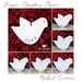 x 3 Personalised Ceramic Christmas Dove Ornament