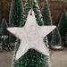 Mudbird Speckled Star Ornament