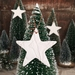 Mudbird Porcelain Stars x 3 - Ornament