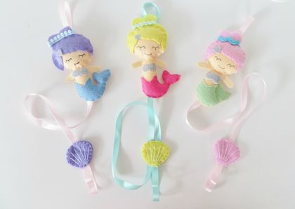 Mermaid Hairclip Holder