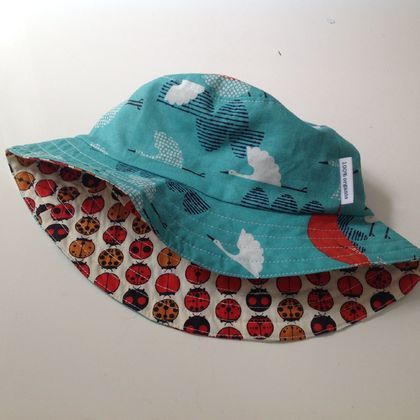 Reversible Sun Hat Size: Small (12-24 months)