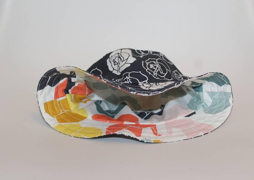 ORGANIC Reversible Sun Hat Size: Small (12-24 months)