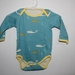 ORGANIC Baby Onesie with Whales 3-6 months