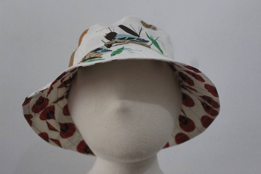Reversible Sun Hat Size: Large (6-8 years)