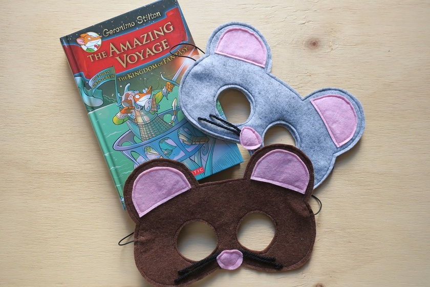 Brown Mouse Mask