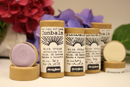 Sunbalm, 20 g Purple or White