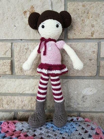 Anouk - crochet doll