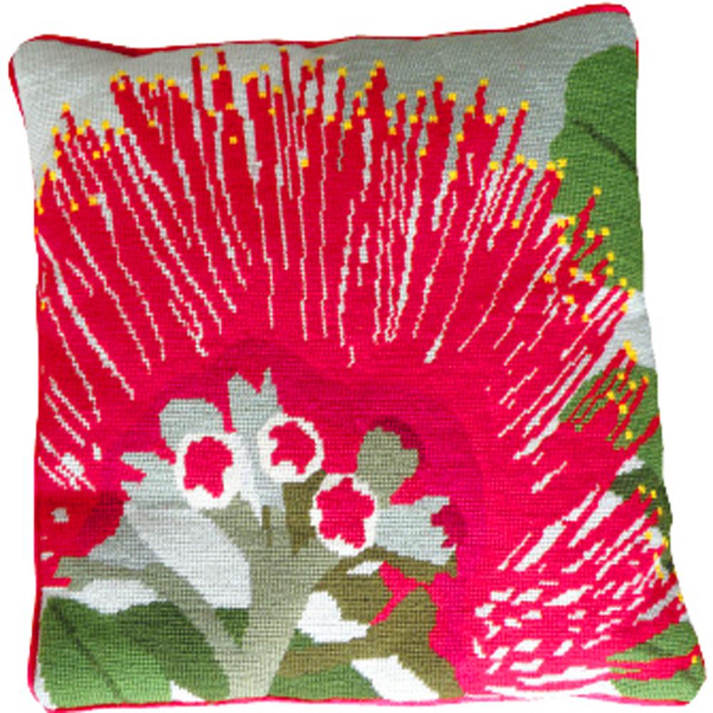 Needlepoint Kit - Pohutukawa Flower Felt