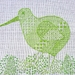 Kiwi Cross Stitch/Blackwork CHART