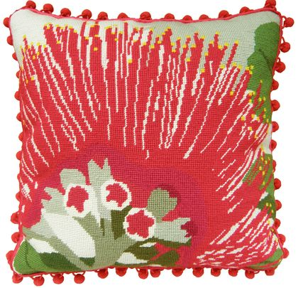 Needlepoint Kit - Pohutukawa Flower