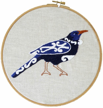 Embroidery pattern - tui