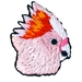 Pink Cockatoo Brooch 2