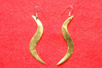 Earrings (brass)