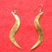 Earrings (brass)