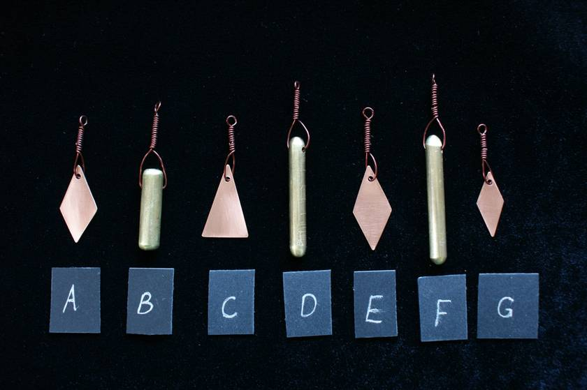 Pendants (Copper and Brass)
