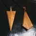 Bottle brush pendants
