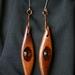 Beech/Seaglass Earrings