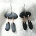 Okarito pebble earrings.