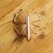 Wire Butterfly Brooch
