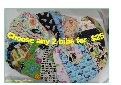 Any 2 Bibs for 25